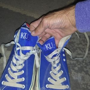 KU canvas shoes